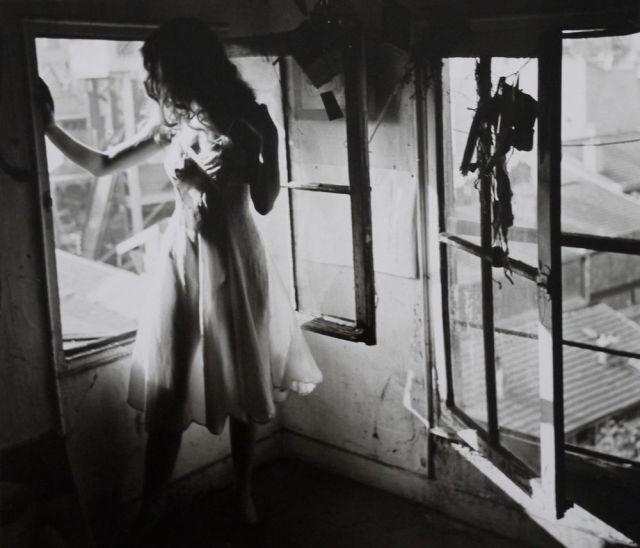Lella in Parys (1946), foto: Edouard Boubat