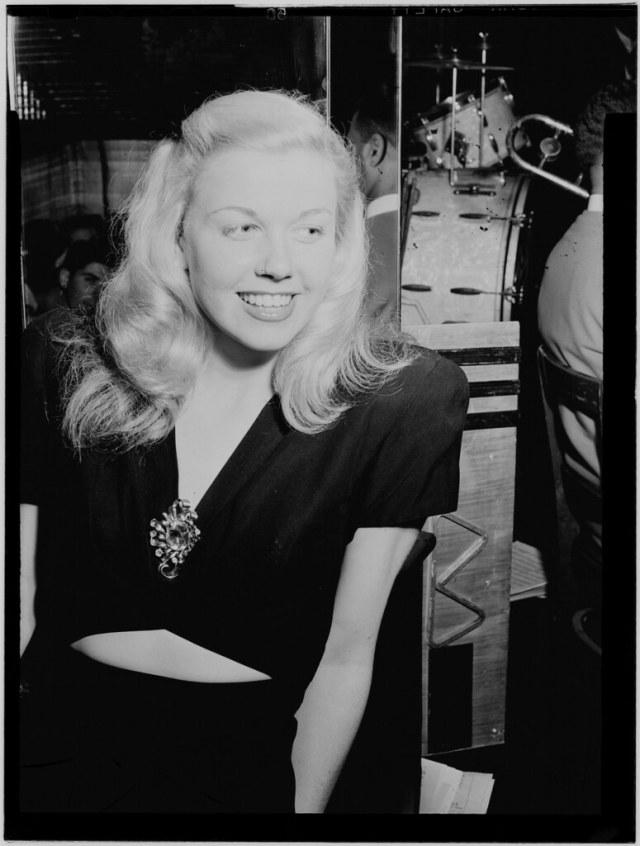 (foto: Doris Day, 1946 - William P. Gottlieb)