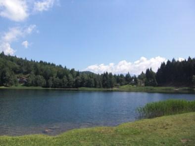 Der nahegelegene Heilige See, ca. 3,5 Stunden Fußweg