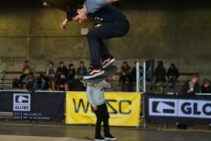 The Best of the West skateboarding in Trax Roeselare
