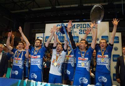 Knack Volley Roeselare landskampioen Volleybal 2016-2017
