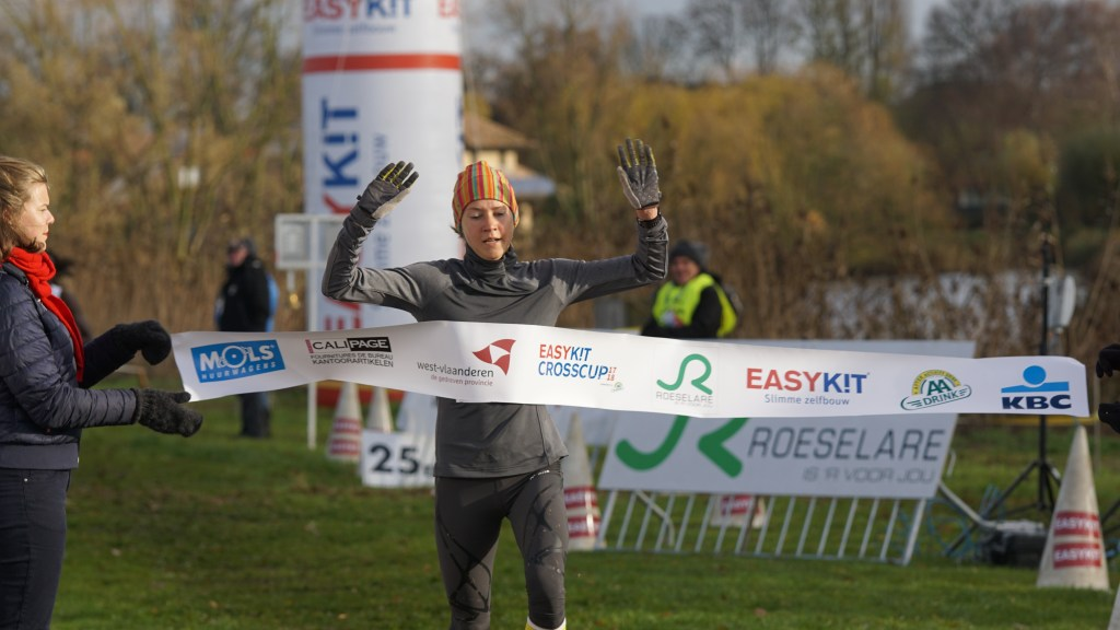 CrossCup manche lopen in Roeselare