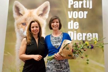 Campagne scherm verkiezingen Partij voor de Dieren Vossenwelp