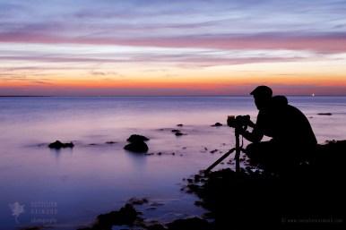 Sea silhouette
