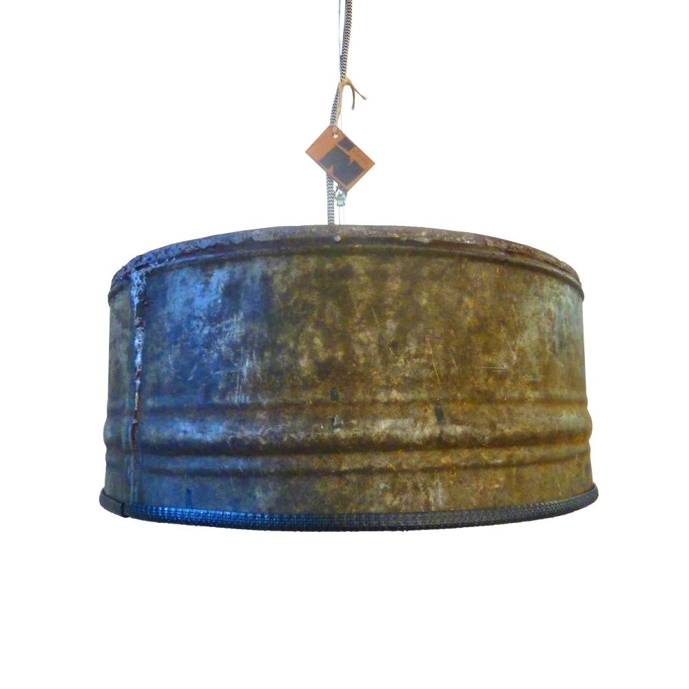 116 Kleine Industriele Hanglamp  drielichts industri le