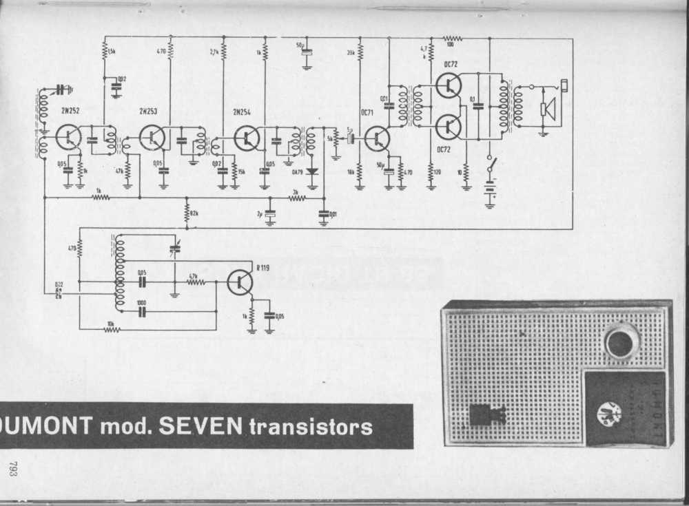 medium resolution of eagle international 6 transistor radio