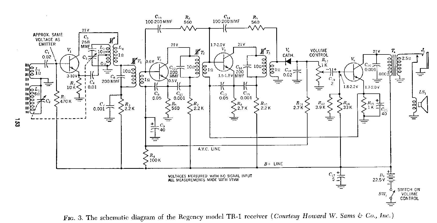 hight resolution of transistor diagrams radio parts diagram radio circuit board diagram