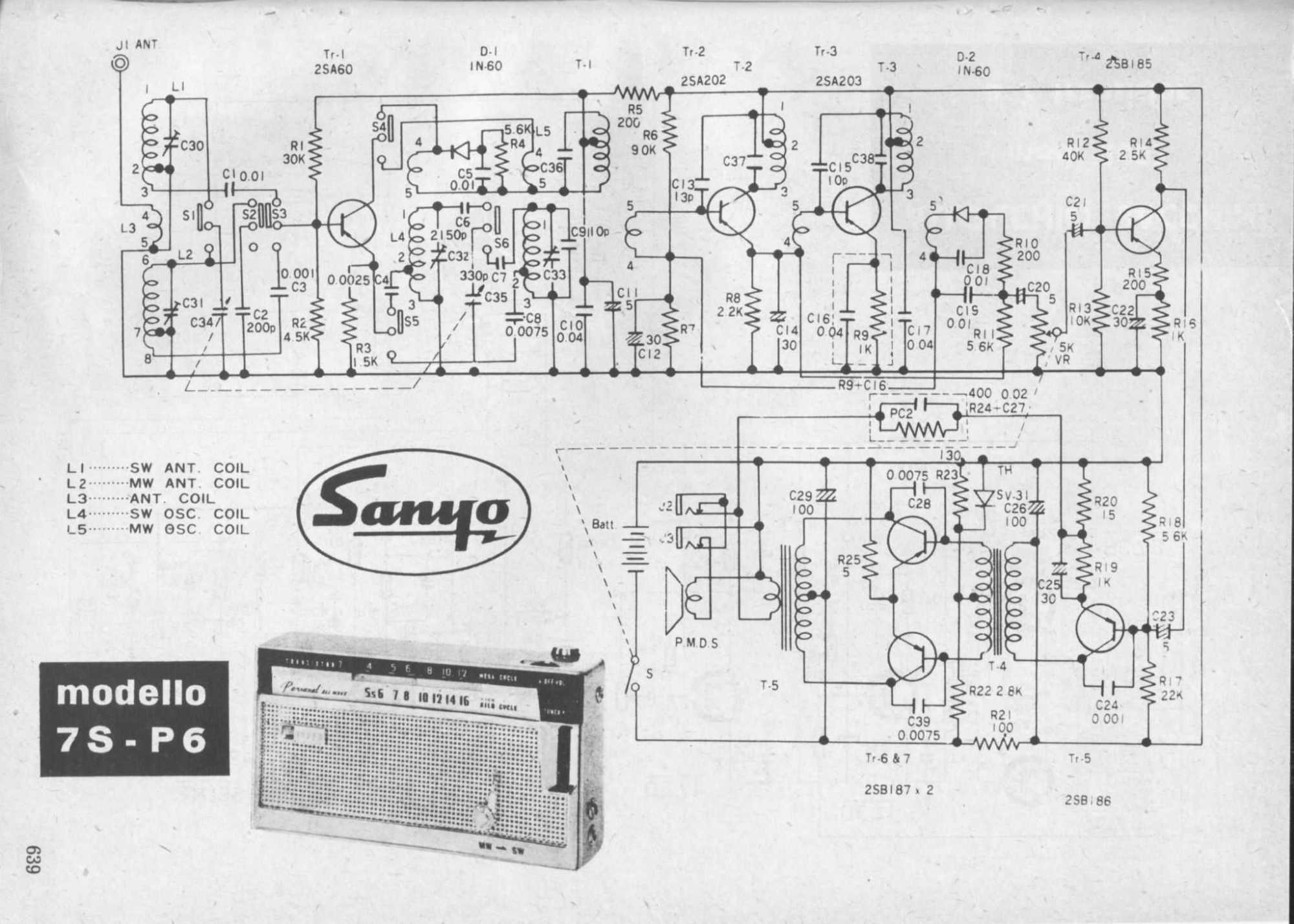 hight resolution of sanyo schematic diagram wiring diagram expert sanyo st 21se1 schematic diagram sanyo schematic diagram