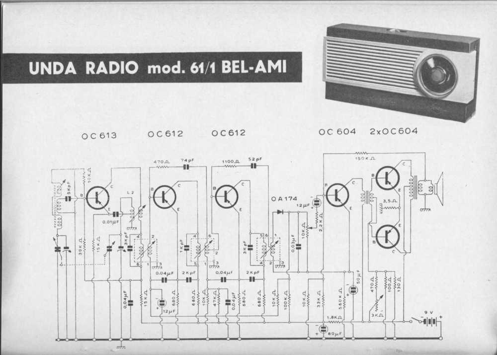 medium resolution of unda radio mod 61 1 bel ami