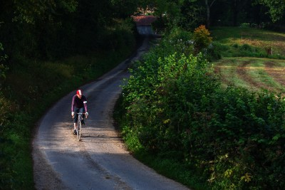 A spin along a country road near Burwash, in the Sussex weald