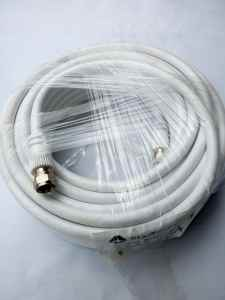 WHITE COLOUR RG-6 COAXIAL CABLE FOR SATELLITE DISH INSTALLATION