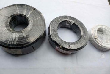 Difference between black and white coaxial cable