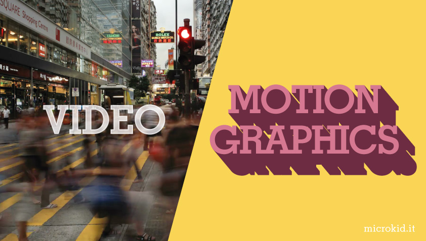 Video vs Motion graphics