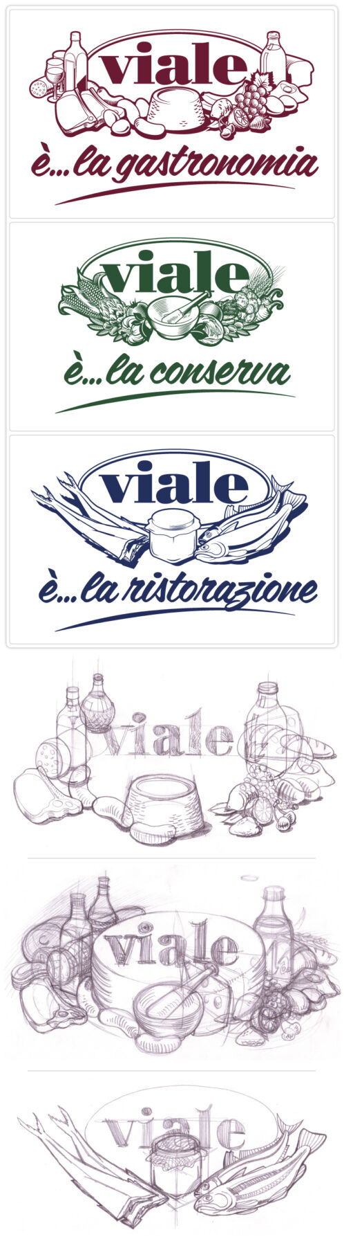 Viale gastronomia logo