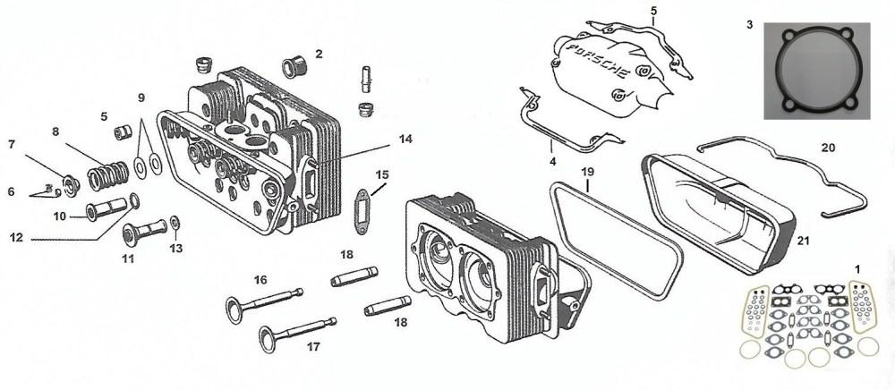 medium resolution of engine heads valves