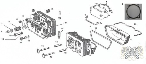 small resolution of engine heads valves