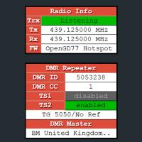OpenGD77 - Hotspot mode