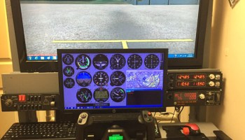 DIY Flight Sim Pod enclosed flight simulator | Free Update