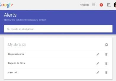 Criando Alertas no Google