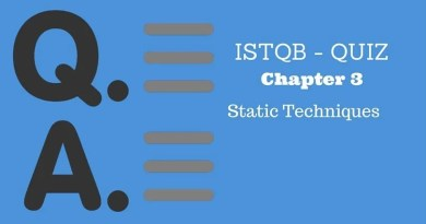 ISTQB - QUIZ - Chapter 3 - Static Techniques