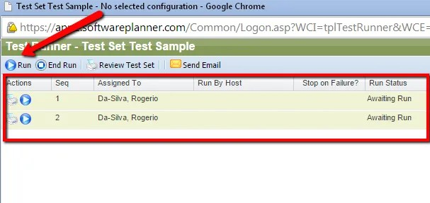 Create and Run Test Sets in QA Complete