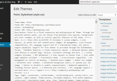 Title All Uppercase – Lower Case Titles in WordPress