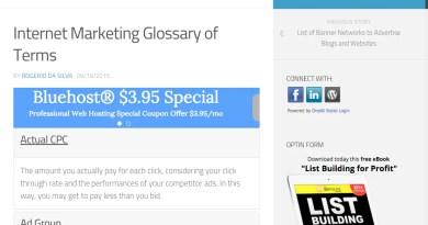 internet marketing glossary of terms - jargon