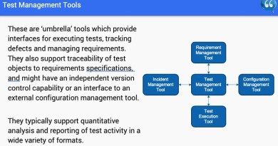 Chapter 6 - Tool Supporting For Testing - ISTQB Free SlideShow