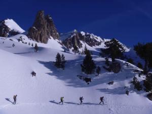 carros de foc ski muntanya