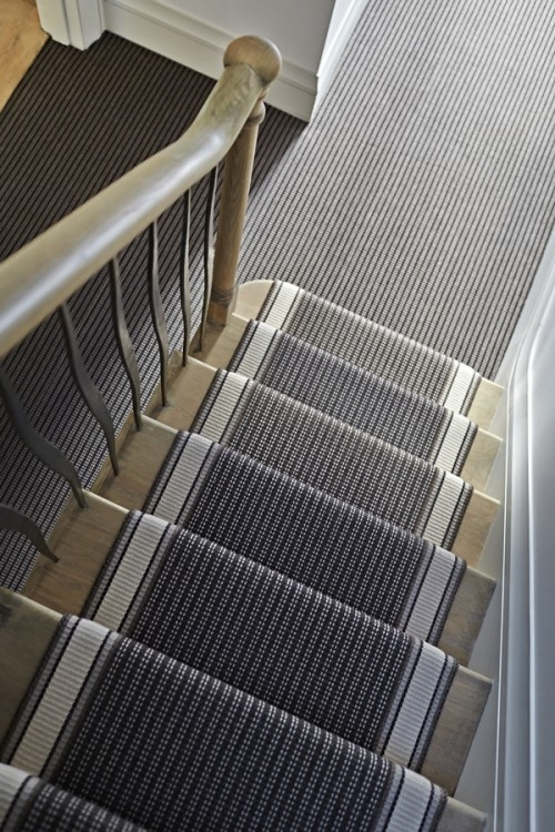 What Should I Do On My Landing Roger Oates Blog – Stairs And | Grey Patterned Stair Carpet | Teal | Black | Farmhouse Style | Stair Landing | Wall