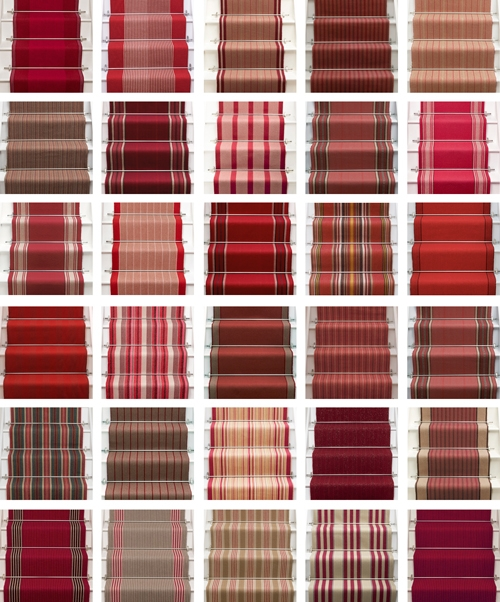 Red Red Red… Roger Oates Blog – Stairs And Stripes   Roger Oates Stair Runners   Wooden   Wood Staircase Carpet   Corner   Pinterest   Carpet