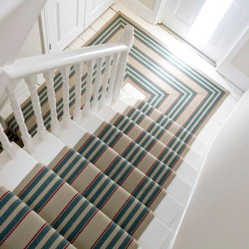 Interior Designers Love Roger Oates Runners Roger Oates Blog | Roger Oates Stair Runners | Middle | Hallway | Art Deco | Corner | Victorian