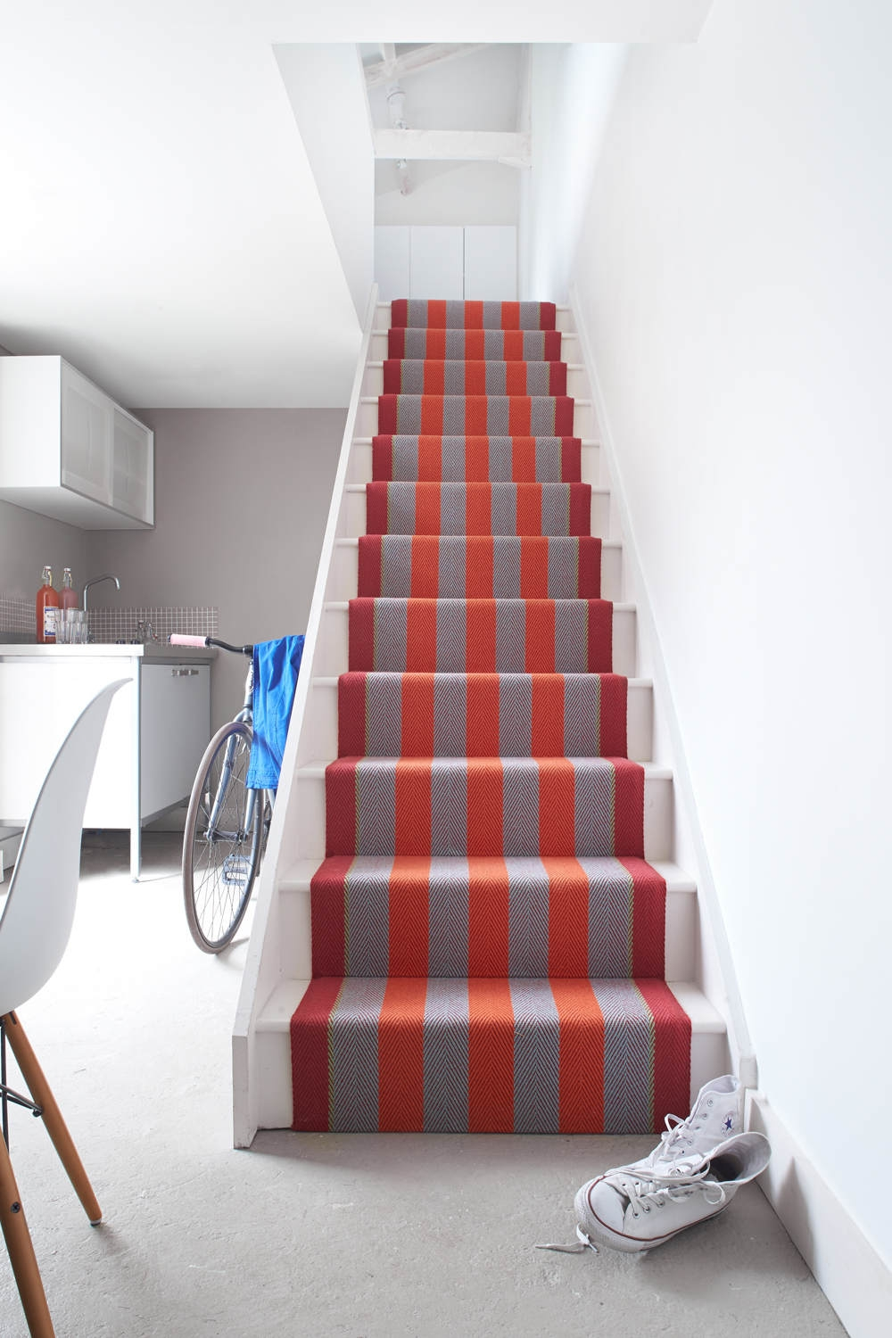 Inspiration Runners Gallery Fitzroy Bright Roger Oates | Roger Oates Stair Runners | Middle | Hallway | Art Deco | Corner | Victorian