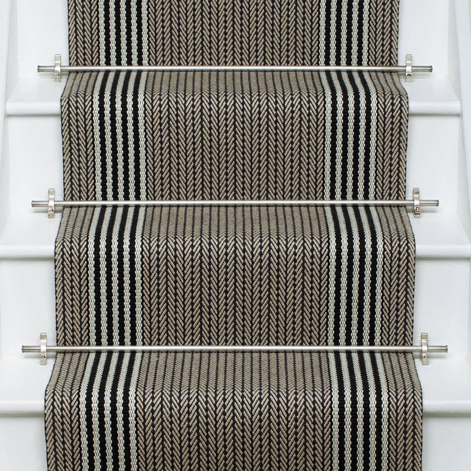 Products Runners For Stairs And Halls Neutral Flaxman Stone | Roger Oates Stair Runners | Middle | Hallway | Art Deco | Corner | Victorian