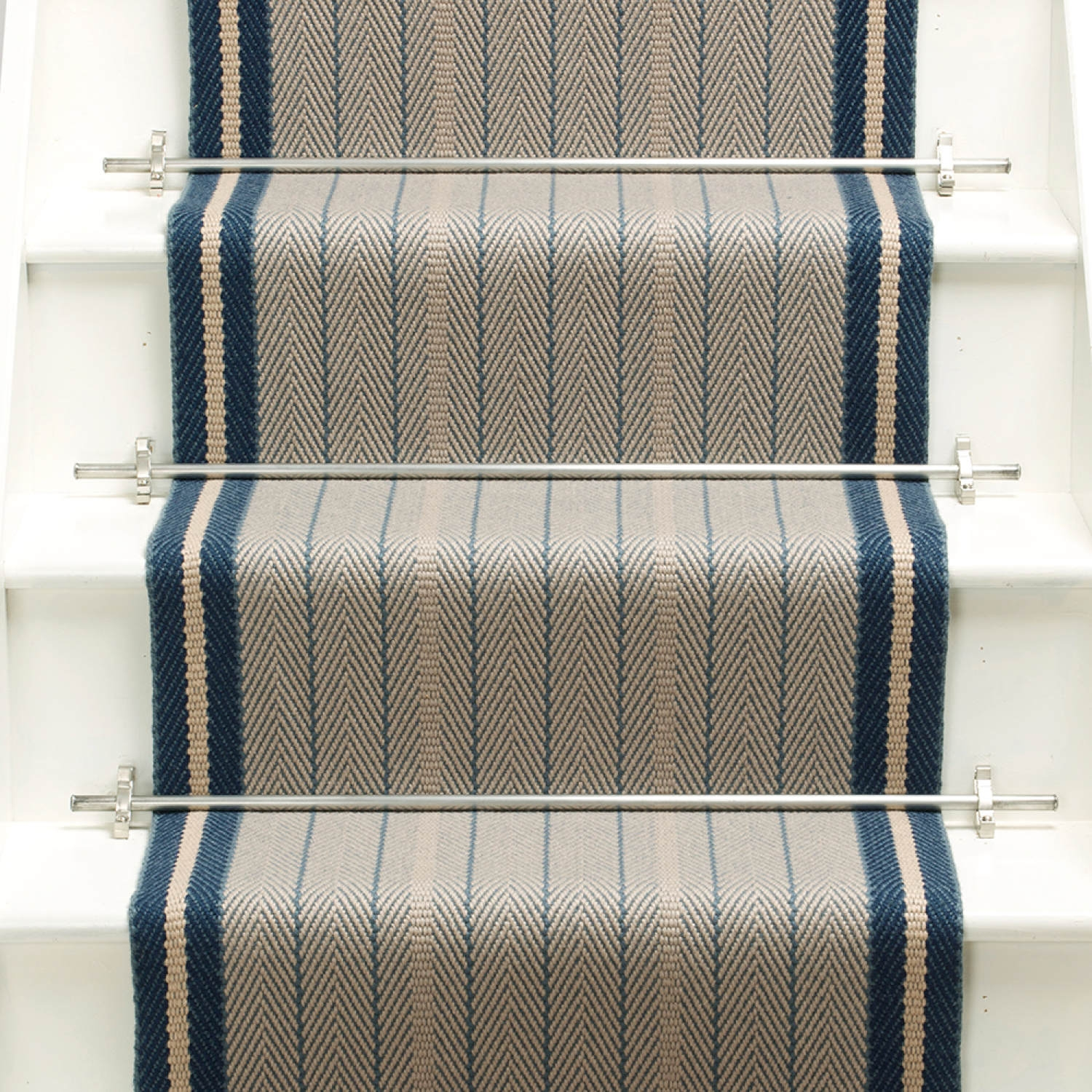 Products Runners For Stairs And Halls Blue Trent Airforce | Roger Oates Stair Runners | Middle | Hallway | Art Deco | Corner | Victorian