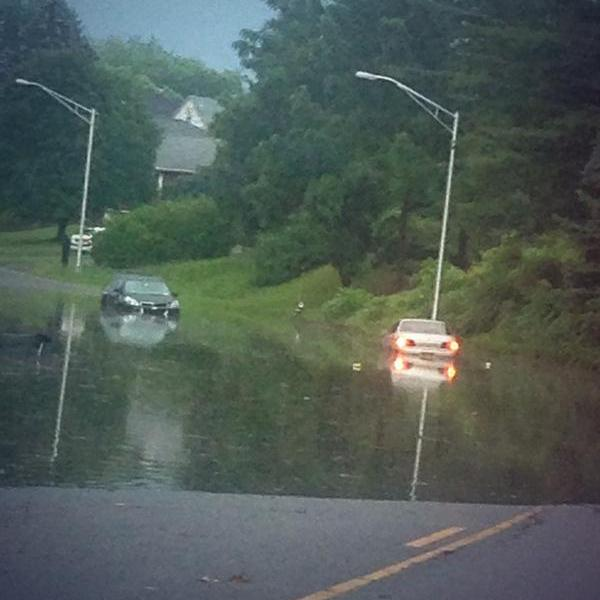 Hackett Blvd, Albany, 5 Aug 2014