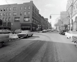 State Street, at South Hawk, 1963.