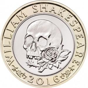 Shakespeare 2016-Coin