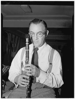 Benny Goodman, 400 Restaurant, New York, NY., ca. July 1946