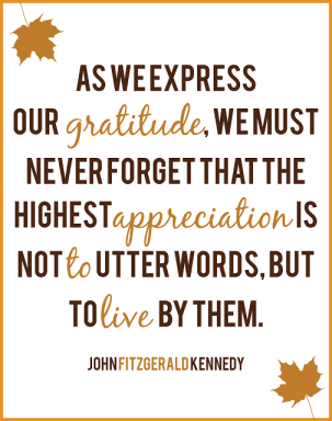 JFK Thanksgiving Day proclamation 1963