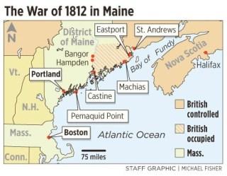 Maine.War Of 1812