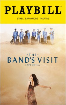 Band's Visit.playbill