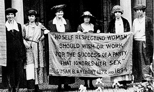 woman's right to vote