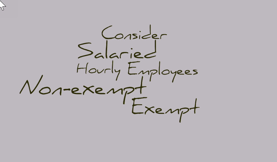 Exempt or Non-exempt Employees - Sacramento CA Business Intermediary