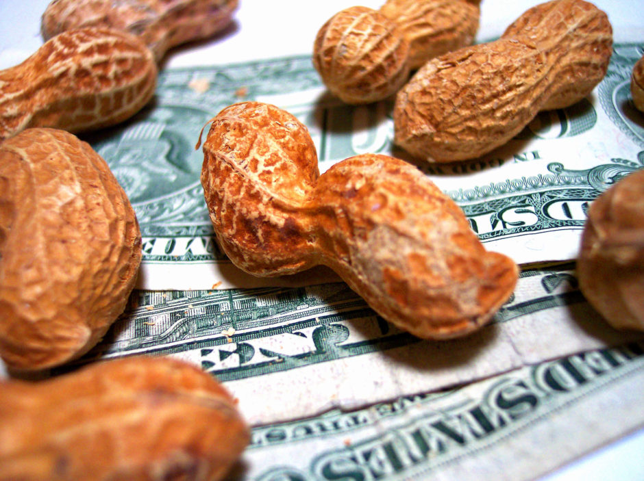 Minimum wage rises in california