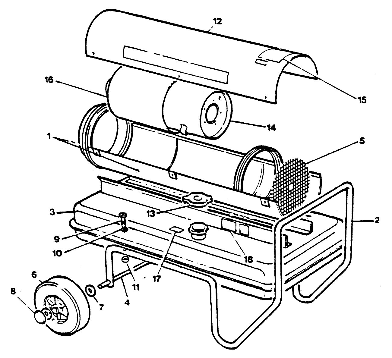 Jetaire D60 Exploded View