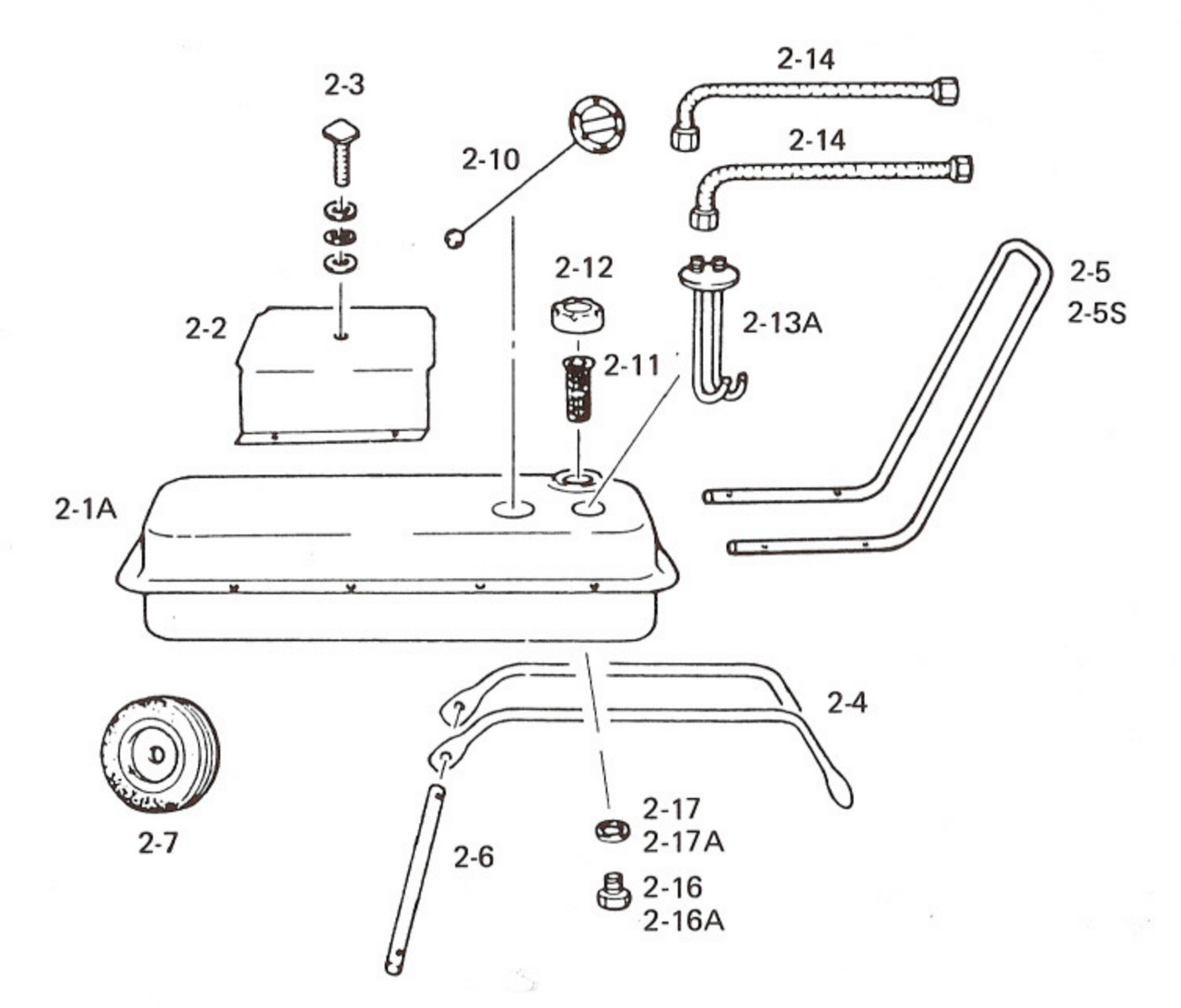 Wilms Val6 Exploded View