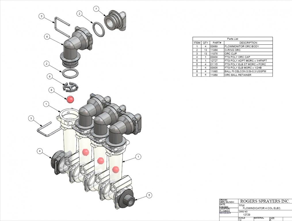 Flow Kit TE1000/TE2000