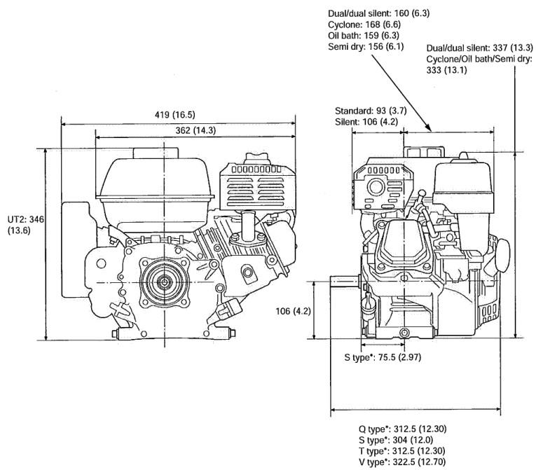 Engine Honda GX160