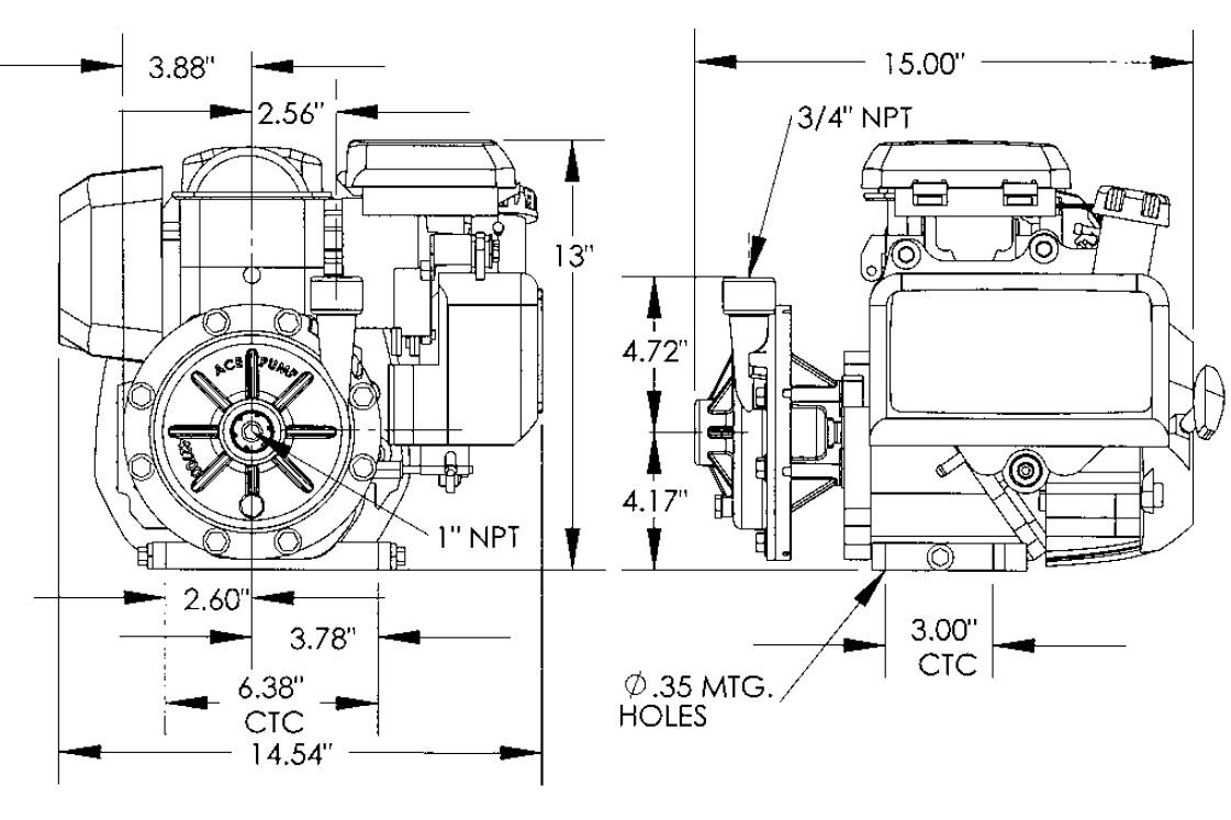 Pump Centrifugal GE-85